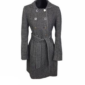 Express belted wool coat size S